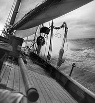 Yachting. France, about 1955. © Tony Burnand / Roger-Viollet