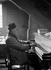 André Gide (1869-1951), French writer. Paris, rue Vanneau.   © Roger-Viollet