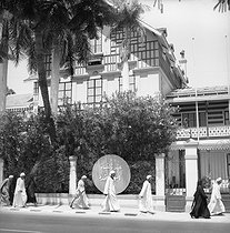 House where supposedly lived Ferdinand de Lesseps (1805-1894), French diplomat. Ismailia (Egypt). © Anne Salaün / Roger-Viollet