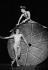 """Phaedra's Dream"". Chorégraphe : Martha Graham. Danseurs : Rudolf Noureev et Christine Dalcin. Paris, Opéra Garnier, janvier 1984. © Colette Masson / Roger-Viollet"
