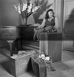 Edith Piaf (1915-1963), chanteuse française. Paris, vers 1950. © Gaston Paris / Roger-Viollet