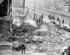 Ruines d'un magasin de vêtements après l'insurrection de Pâques 1916. Dublin (République d'Irlande).  © TopFoto / Roger-Viollet
