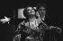 """Ariadne auf Naxos"", opera by Richard Strauss. Direction : Jean-Louis Martinoty. Conductor : Lothar Zagrosek. Stage design : Hans Schavernoch. Costumes : Lore Haas. Montserrat Caballé and Trudeliese Schmidt. Opéra de Paris, October 1986. © Colette Masson/Roger-Viollet"