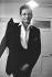 Johnny Cash (1932-2003), chanteur et musicien américain, dans sa loge. Etats-Unis, vers 1960. © TopFoto / Roger-Viollet