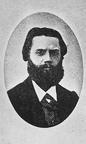 Jules Vallès (1832-1885), French writer and journalist, at the time of the French Commune.  © Roger-Viollet