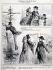 """Henri-Alfred Darjou (1832-1874) and Destouches. """"Le public au salon de 1864, section des refusés"""". Engraving. Paris, musée Carnavalet. © Musée Carnavalet/Roger-Viollet"""