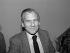 Jean d'Ormesson (1925-2017), journaliste et écrivain français. Paris, vente du Pen-Club, décembre 1987. © Roger-Viollet