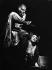 "Jessye Norman (1945-2019), cantatrice américaine, et Ingvar Wixell (1931-2011), chanteur suédois dans ""Aida"". Opéra de Berlin (Allemange), 1972. © Ullstein Bild / Roger-Viollet"