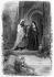 "Illustration for ""Les aventures du dernier Abencerage"", by François-René de Chateaubriand. Blanca and Ben-Hamet. 19th century. © Roger-Viollet"