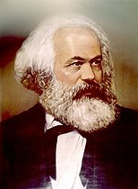 Karl Marx (1818-1893), German social theorist and revolutionary. Private collection. © Roger-Viollet