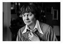 February 8, 1999 (20 years ago) : Death of Iris Murdoch (1919-1999), British writer and philosopher © Jane Bown / TopFoto / Roger-Viollet