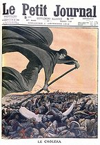 "First Balkan War (1912-1913). Cholera epidemic. ""Le Petit Journal"", on December 1st, 1912. © Roger-Viollet"