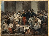"""Alfred Johannot (1800-1872) """"Le duc d'Orléans visitant les malades de l'Hôtel-Dieu pendant l'épidémie de choléra"""", 1832. Peinture. Paris, musée Carnavalet. © Musée Carnavalet/Roger-Viollet"""