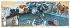 """Raoul Dufy (1877-1953). """"La fontaine sur la place"""". Gouache sur papier, vers 1927. Paris, musée d''Art moderne. © Musée d'Art Moderne/Roger-Viollet"""