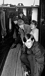 """Les membres des Rolling Stones à bord du """"HMS Discovery"""" sur la Tamise. En partant du fond : Bill Wyman, Keith Richards, Brian Jones, Mick Jagger et Charlie Watts. Londres (Angleterre), 1963. © TopFoto / Roger-Viollet"""