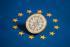 Pièce portugaise d'un euro et étoiles du drapeau européen, 22 janvier 2011. © Ullstein Bild/Roger-Viollet