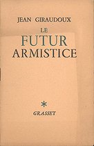 """""""Le futur armistice"""" of Jean Giraudoux, French writer, general commissioner at the Information, from his broadcast speech of November 10, 1939. © Roger-Viollet"""