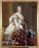 """Baron François Gérard (1770-1837). """"Charles X (1757-1836), roi de France, en costume de sacre"""". Huile sur toile. Paris, musée Carnavalet. © Musée Carnavalet / Roger-Viollet"""