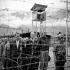 Camp of nazi prisoners. French occupation area. Germany, after 1945. © Gaston Paris / Roger-Viollet