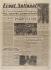 """Journal """"Front National"""" du 26 août 1944. Papier imprimé, 1944. Musée du Général Leclerc de Hauteclocque et de la Libération de Paris, musée Jean Moulin. © Mémorial Leclerc - Musée Jean Moulin/Roger-Viollet"""