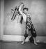 """""""Le Jeune homme et la mort"""". Chorégraphie : Roland Petit. Livret : Jean Cocteau. Musique : Jean-Sébastien Bach. Ballets des Champs-Elysées. Jean Babilée. Paris, septembre 1946.     © Boris Lipnitzki/Roger-Viollet"""