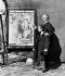 Henri de Toulouse-Lautrec (1864-1901), peintre français, et Trémolada, adjoint de Zidler, directeur du Moulin-Rouge, 1892. © Roger-Viollet