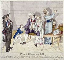 """François, Ecoutés ce bon Roi (The King Louis XVI of France bidding farewell to his family) si ce peuple que jai tant aimé est injuste envers moi"". Paris, musée Carnavalet.         © Musée Carnavalet/Roger-Viollet"