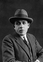 Francis Poulenc (1899-1963), French composer. © Pierre Choumoff/Roger-Viollet