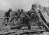 World War II. Front of Normandy, July 1944. German gun. © LAPI/Roger-Viollet