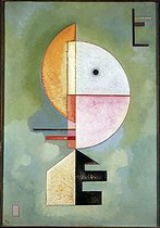 """""""Vers le haut"""" (1929), by Wassily Kandinsky (1866-1944). Venise, Peggy Guggenheim Foundation. © Roger-Viollet"""