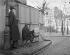 Montmartre. The place du Tertre, where the rue Saint-Eleuthère opens, towards the rue Norvins. Paris (XVIIIth arrondissement). Photograph by René Giton known as René-Jacques (1908-2003). Bibliothèque historique de la Ville de Paris. © René-Jacques/BHVP/Roger-Viollet