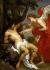 "Anton van Dyck (1599-1641). ""Saint Sébastien et l'ange"", 1620-1640. Turin (Italie), galerie Sabauda. © Alinari/Roger-Viollet"