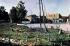 Guerre 1914-1918. La gare de Verdun très endommagée par le bombardement. Verdun, septembre 1916. Fac-similé de plaque autochrome de Jules Gervais-Courtellemont. © Bilderwelt/Roger-Viollet