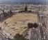 Préparation des travaux de la Tour Montparnasse. Paris, 1967. © Roger-Viollet