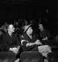 "Jean Giraudoux and Louis Jouvet attending a rehearsal of ""Electre"". France, May 1947. © Studio Lipnitzki / Roger-Viollet"