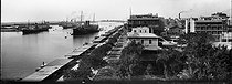 Panorama at the entrance of the Canal with the quay François-Joseph. Port Said (Egypt), circa 1900. © Léon et Lévy/Roger-Viollet