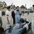 Graham Hill (1939-1975), coureur automobile britannique, lors du Grand Prix d'Italie de 1961. © Alinari / Roger-Viollet