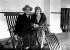 Irving Berlin (1888-1989), compositeur américain, et son épouse Ellin MacKay. Southampton (Angleterre), 15 janvier 1926. © PA Archive/Roger-Viollet