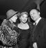 Martine Carol, Line Renaud and Loulou Gasté. Paris, 1960. © Roger Berson / Roger-Viollet