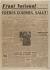"""Journal """"Front National"""" du 25 août 1944. Papier imprimé, 1944. Musée du Général Leclerc de Hauteclocque et de la Libération de Paris, musée Jean Moulin. © Mémorial Leclerc - Musée Jean Moulin/Roger-Viollet"""