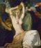 """Théodore Chasseriau (1819-1856). """"La toilette d'Esther"""". Paris, Louvre museum. © Roger-Viollet"""