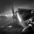 "Hélice d'un avion de ligne Lockheed ""Constellation"", mars 1956. © Roger-Viollet"