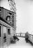 1900 World Fair in Paris. Terrace of the third floor of the Eiffel Tower. © Neurdein / Roger-Viollet