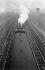 Rail transport. Engine and smoke at the Gare Saint-Lazare train station. Chemins de fer de l'Etat (State Railway). Paris (VIIIth arrondissement), 1931-1934. Photograph by François Kollar (1904-1979). Paris, Bibliothèque Forney. © François Kollar/Bibliothèque Forney/Roger-Viollet