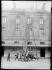 Firemen on exercise, the extending ladder. Paris, 1911. © Jacques Boyer/Roger-Viollet