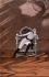 """Composition autour du rôle de Sarah Bernhardt (1844-1923), comédienne française, dans """"L'Aiglon"""" d'Edmond Rostand. Par O.D.V. Guillonnet. © Roger-Viollet"""