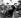 Amedeo Modigliani et Adolphe Basler (à droite), au café du Dôme à Paris.     © Roger-Viollet