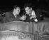 """Répétition de : """"Le Coup de grâce"""". Maurice Druon et Joseph Kessel. Paris, théâtre du Gymnase, septembre 1953. © Studio Lipnitzki/Roger-Viollet"""