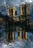 La cathédrale Notre-Dame de Paris. Superposition effectuée lors de la prise de vue. Paris (IVe arr.), 1966. © Jean Mounicq / Roger-Viollet