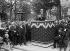 Transfer to the Panthéon of the ashes of Jean Jaurès (1859-1914), French politician. Speech of René VIviani on the Champs-Elysées. Paris, on November 23, 1924. © Albert Harlingue/Roger-Viollet